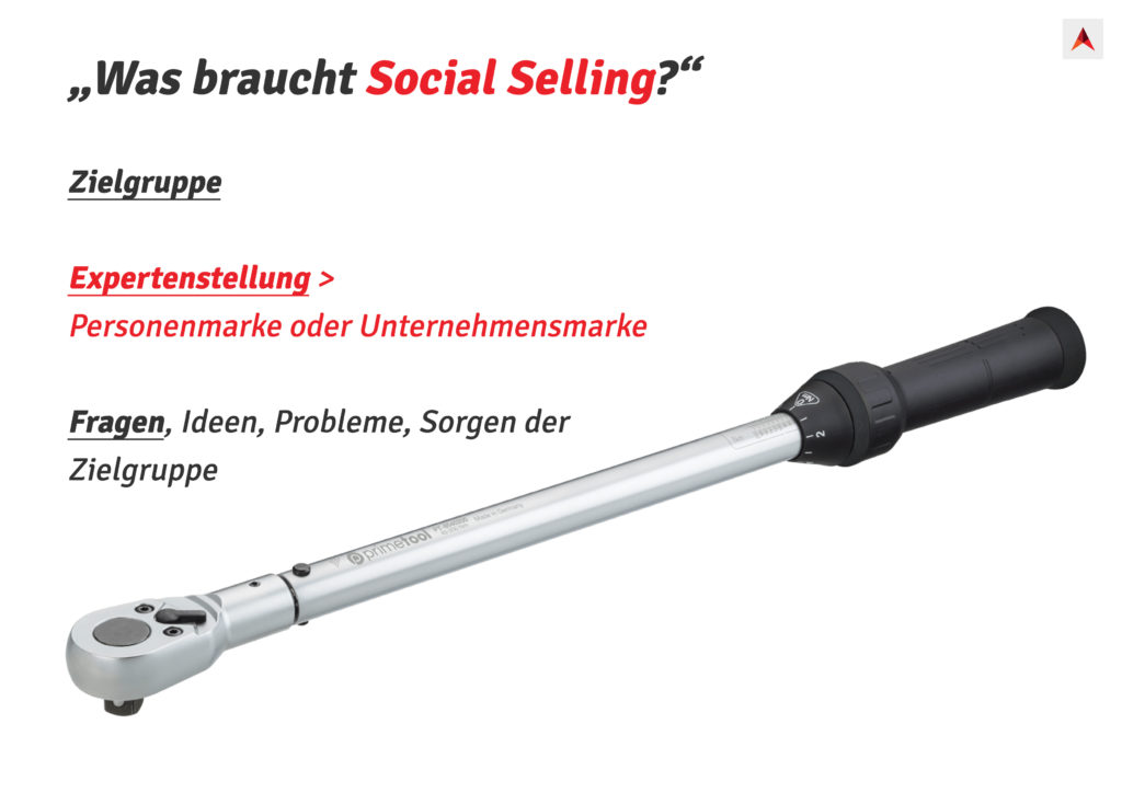 Was braucht Social Selling